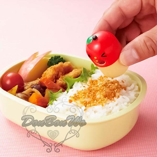 日本製飯友筒收納盒番茄造型163263海渡