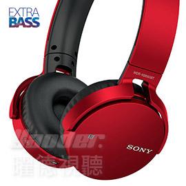 【曜德】SONY MDR-XB650BT 紅色 EXTRA BASS重低音 無線藍芽NFC ★免運★送收納盒★
