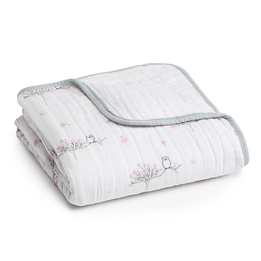 【美國 aden+anais】純棉嬰兒棉紗被毯(dream blanket)  # SKU 6039