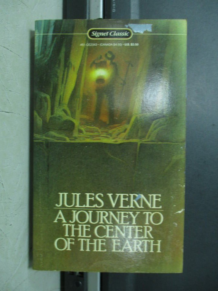 【書寶二手書T2/原文小說_LRB】Journey to the Centre of the Earth_Jules