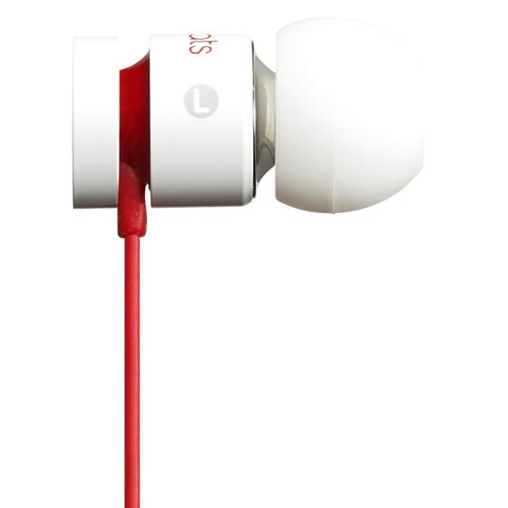 《育誠科技》『 Beats urBeats 亮白』耳塞式耳機/耳道式/Dolby音效/內置麥克風/堅固金屬外殼