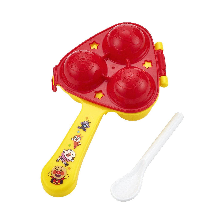 **雙子俏媽咪親子館**  [日本]  麵包超人 Anpanman 迷你飯糰壓模器 模型  附飯勺