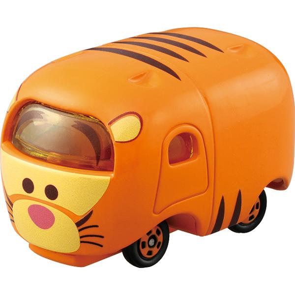 【真愛日本】15122100009TOMY小車-TSUM跳跳虎    迪士尼 維尼家族 POOH   小車  收藏  擺飾  疊疊樂