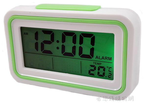 《省您錢購物網》全新~大螢幕液晶數位語音報時鐘電子鐘KK-9905T