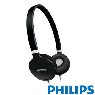 《省您錢購物網》福利品~飛利浦輕巧型頭戴式耳機 (SHL1700BK/98)
