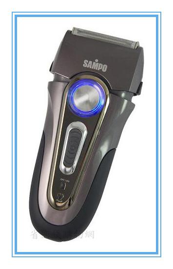 《省您錢購物網》全新~聲寶浮動三刀頭水洗式刮鬍刀(EA-Z1112WL)+贈台灣製鬧鐘*1