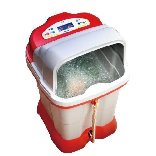 《省您錢購物網》全新~【勳風】旗艦級超高桶定時定溫SPA足浴機 (HF-3758)+贈光觸媒捕蚊燈1台