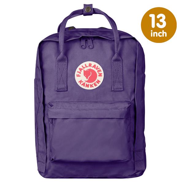 【鄉野情戶外專業】 Fjallraven |瑞典|  小狐狸 Kanken Laptop 13inch 方型書包 方型背包 電腦包 (深紫) _27171