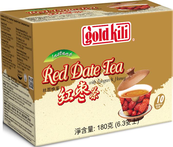 金麒麟桂圓蜂蜜紅棗茶 - 18公克*10包/盒