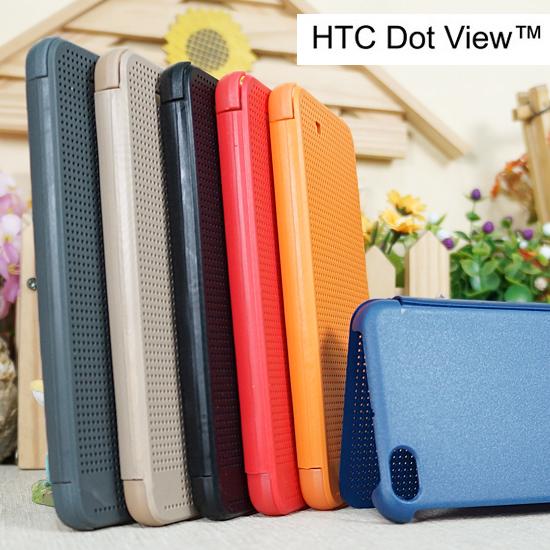 【A級顯示】HTC One X9 炫彩顯示洞洞皮套/側掀手機保護套/保護殼 Dot View