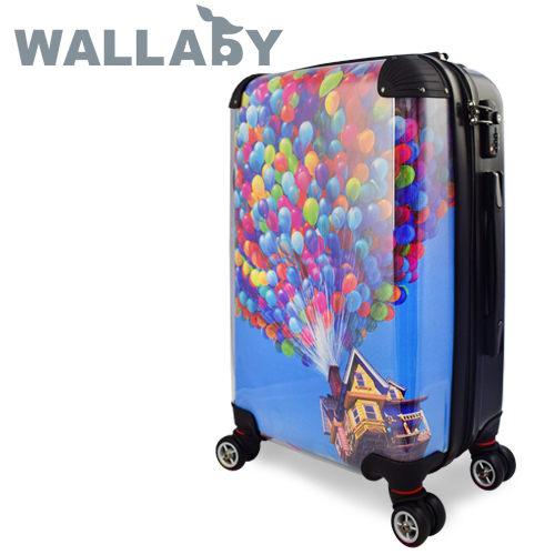 【JOHOYA】20吋-夢想氣球可DIY換殼行李箱HTX-1522 *硬殼行李箱*MIT台灣製造