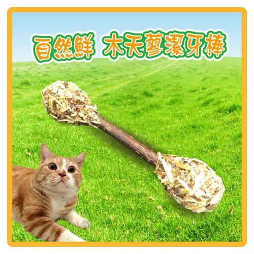 【力奇】自然鮮 木天蓼潔牙棒(45-NF-014) -80元【快來讓貓咪一起動吃動】>可超取(I102A14)