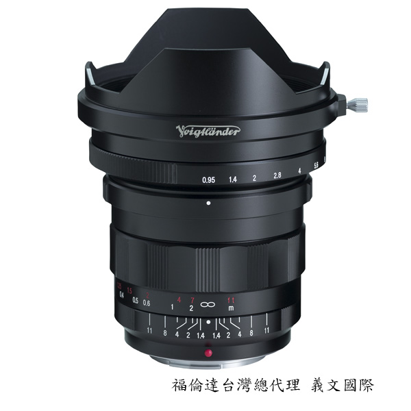 福倫達專賣店:Voigtlander NOKTON 10.5mm F0.95 For MFT(GF2 GF3 GH2 GH3 AF100 blackmagic 微電影鏡頭)