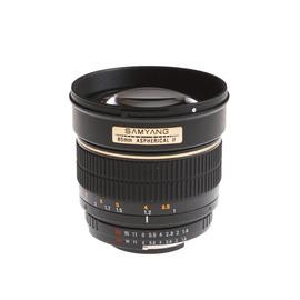 Samyang 鏡頭專賣店: 85mm/F1.4 UMC(For Samsung NX, EP1, GF1) 義文公司貨