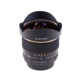 Samyang鏡頭專賣店:8mm/F3.5 Fisheye for Canon EOS (魚眼 600D 650D 60D)
