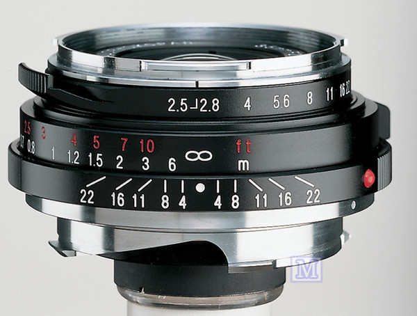 福倫達 Voigtlander 35mm/F2.5 P II Mount (Canon EOS M,Sony Nex, Fuji X-E1,GF2,GH2,GH3,GXR)