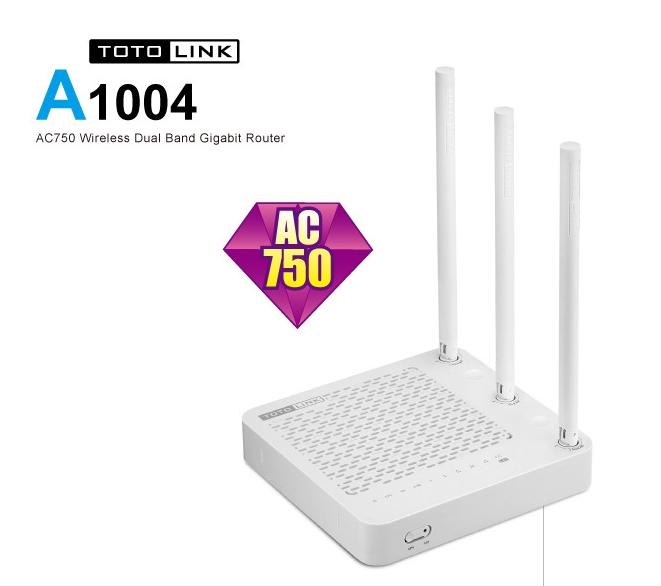 TOTOLINK A1004 AC750 超世代Giga路由器  挑戰最便宜雙頻加1000Mbs 路由器