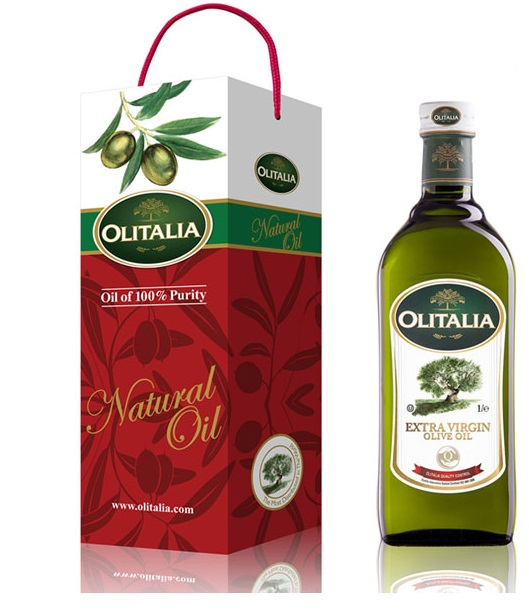 【Olitalia】義大利奧利塔---特級冷壓橄欖油1000ml(1入裝)