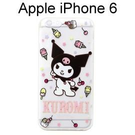 庫洛米透明軟殼 [KM1] iPhone 6 / 6S (4.7吋)【三麗鷗Sanrio正版授權】KUROMI