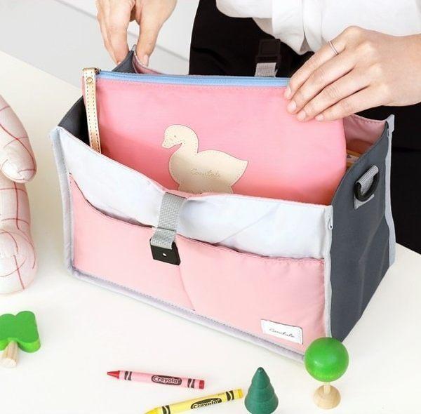 ♚MY COLOR♚嬰兒推車外掛收納媽咪包 包中包 嬰兒副食品收納 保溫包 媽媽包 收納包 分隔包 【T16】