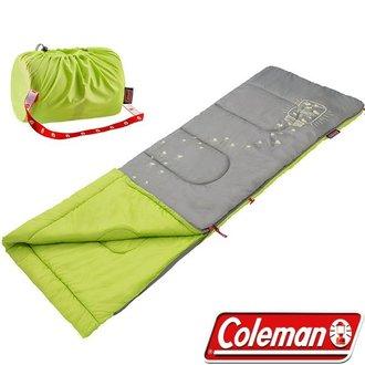 Coleman 美國 | 夜光型兒童睡袋 / C7 萊姆綠 | 秀山莊(CM-22259)