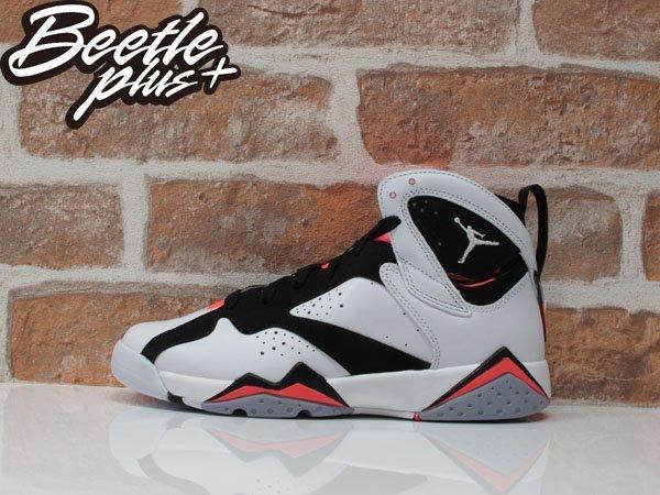 BEETLE PLUS NIKE AIR JORDAN VII HOT LAVA 7代 喬丹 飛人 白黑紅 熊貓 女鞋 籃球鞋 442960-106