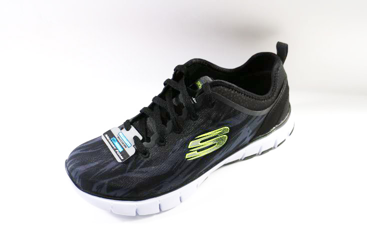 [陽光樂活]Skechers(男)Relaxed Fit Skech-Flex Hitting Streak-51446BKW