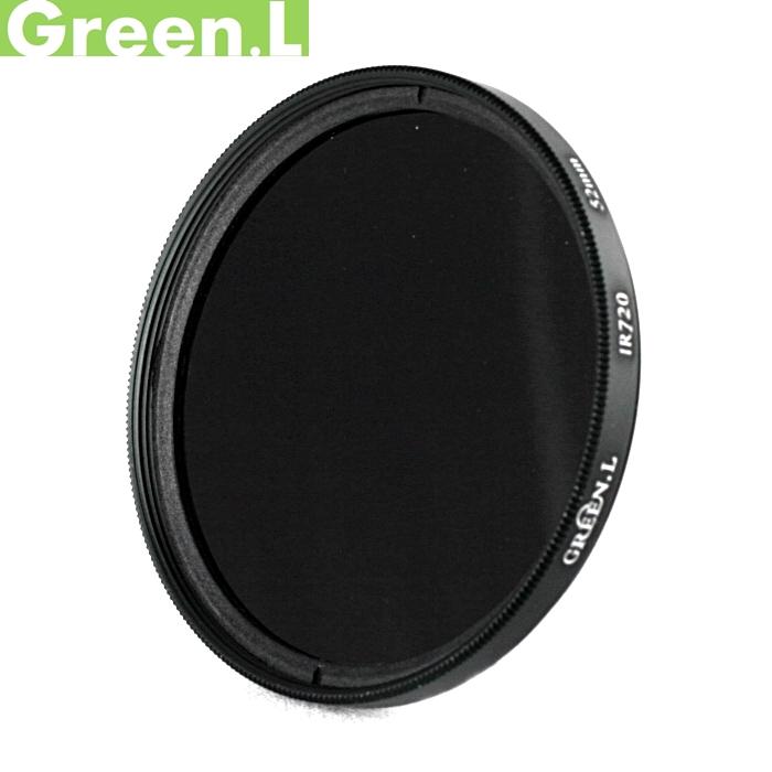 又敗家@Green.L紅外線濾鏡58mm IR720波長IR濾鏡(多層鍍膜)IR72紅外鏡波段720nm保護鏡適半紅外線攝影夜視雪景特效黑白攝影DV適Canon 18-55mm f/3.5-5.6 55-250mm F4.5-5.6 Fujifilm 14mm F2.8 16-50mm F3.5-5.6 50-230mm -6.7 Olympus MZD 40-150mm 14-150mm 1:4-5.6 Panasonic 35-100mm 12-35mm Pentax 55-300mm F4-5.8