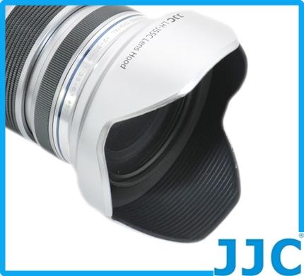 又敗家@銀色OLYMPUS遮光罩MZD 12-50mm 1:3.5-6.3 EZ ED遮罩M.ZD具消光紋倒裝同OLYMPUS原廠遮光罩LH-55C遮光罩OM-D E-M5 M1 kit鏡M.Zuiko Digital f3.5-