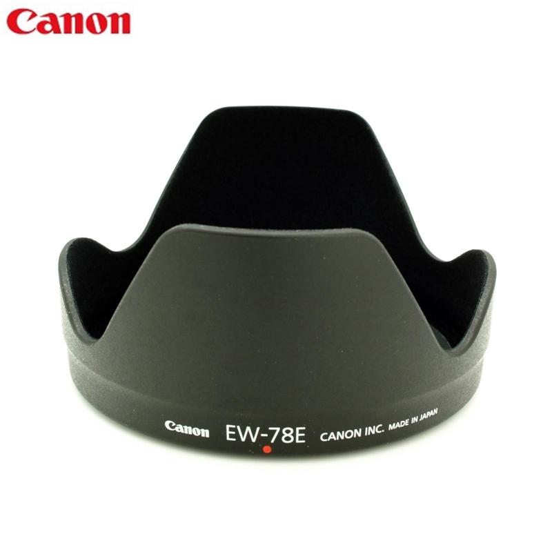 又敗家@原廠CANON遮光罩EW-78E遮光罩EW78E(插刀式可反裝倒裝,原廠正品)適佳能EF-S 15-85mm f/3.5-5.6 IS USM EFs f3.5-5.6 7DKit鏡