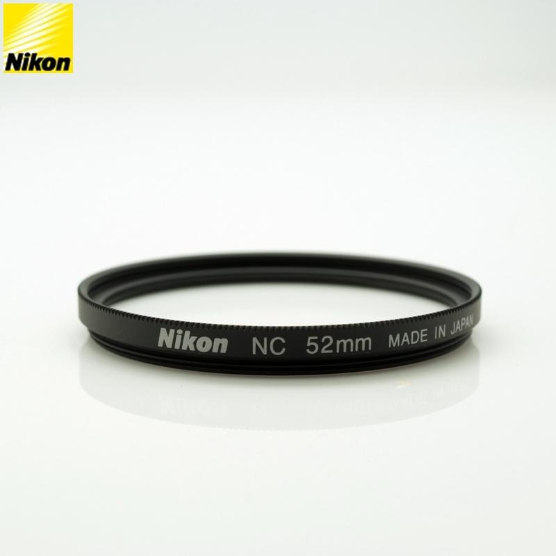又敗家@原廠NIKON正品52mm NC濾鏡(Neutral Color Filter中性顏色保護鏡)MC-UV濾鏡MCUV濾鏡MC-UV保護鏡MCUV保護鏡適Nikkor 28mm 35mm 50mm 55mm f1.2 f1.4 f1.8 32mm f2.0 AF-S 18-55mm f3.5-5.6G VR非Kenko Pro 1D MARUMI DHG HOYA HMC B+W
