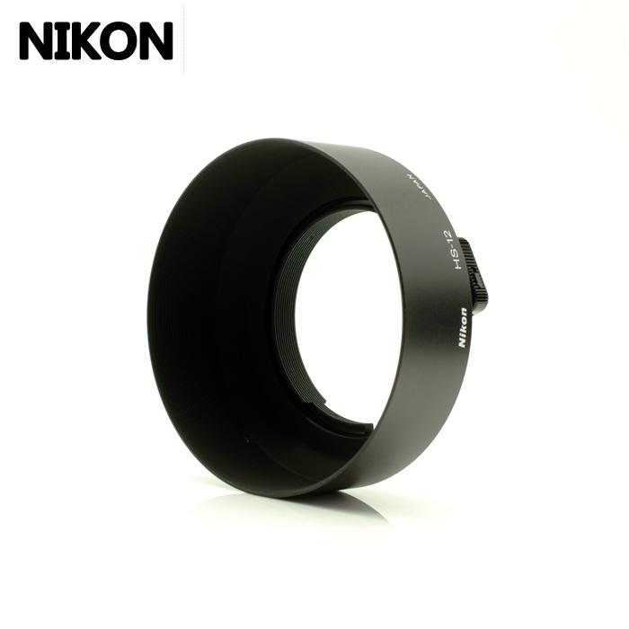 又敗家@尼康正品NIKON原廠遮光罩HS-12(可反扣,啞紋金屬)HS12適28mm 35mm 50mm f1.4 f1.8 32mm f2.0和口徑52mm鏡頭代HS-9 HS-14 HS14
