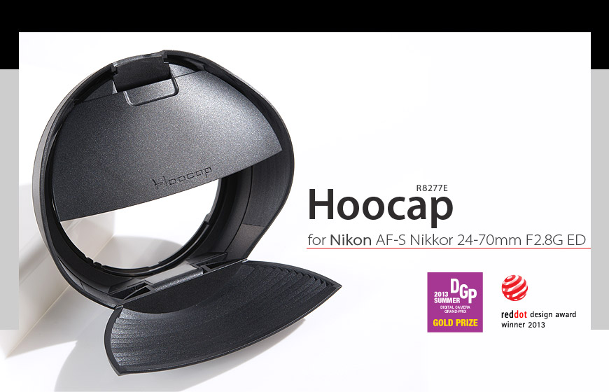又敗家@台灣品牌HOOCAP半自動鏡頭蓋R8277E(相容HB40遮光罩和LC77鏡頭蓋)適尼康Nikon AF-S Nikkor 24-70mm F2.8G ED半自動蓋半自動前蓋相容Nikon原廠遮光罩f2.8G  f2.8 G  f/2.8 1:2.8