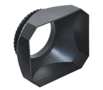 又敗家@ JJC 58mm DV遮光罩方形遮光罩 58mm遮光罩58mm螺紋遮光罩58mm螺口58mm螺牙遮光罩適DV攝影機DV錄影機所有口徑58mm口徑鏡頭