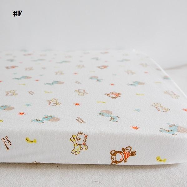 嬰兒【精梳棉】床包。嬰兒床單。嬰兒床罩-F米色小動物