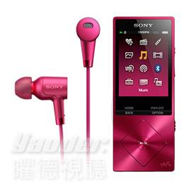 【曜德】SONY NW-A26HN 粉色 數位隨身聽 32GB NFC藍芽播放 ★免運★