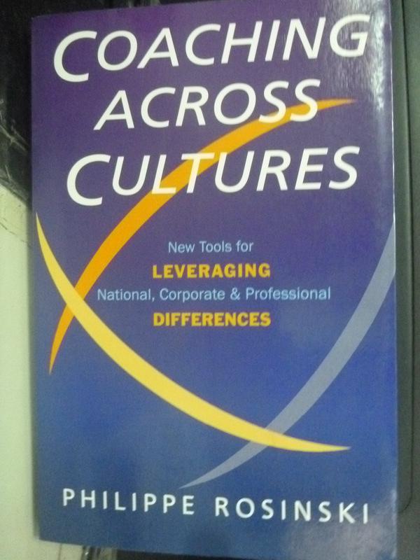 【書寶二手書T2/財經企管_ZJW】Coaching across cultures : new tools for _