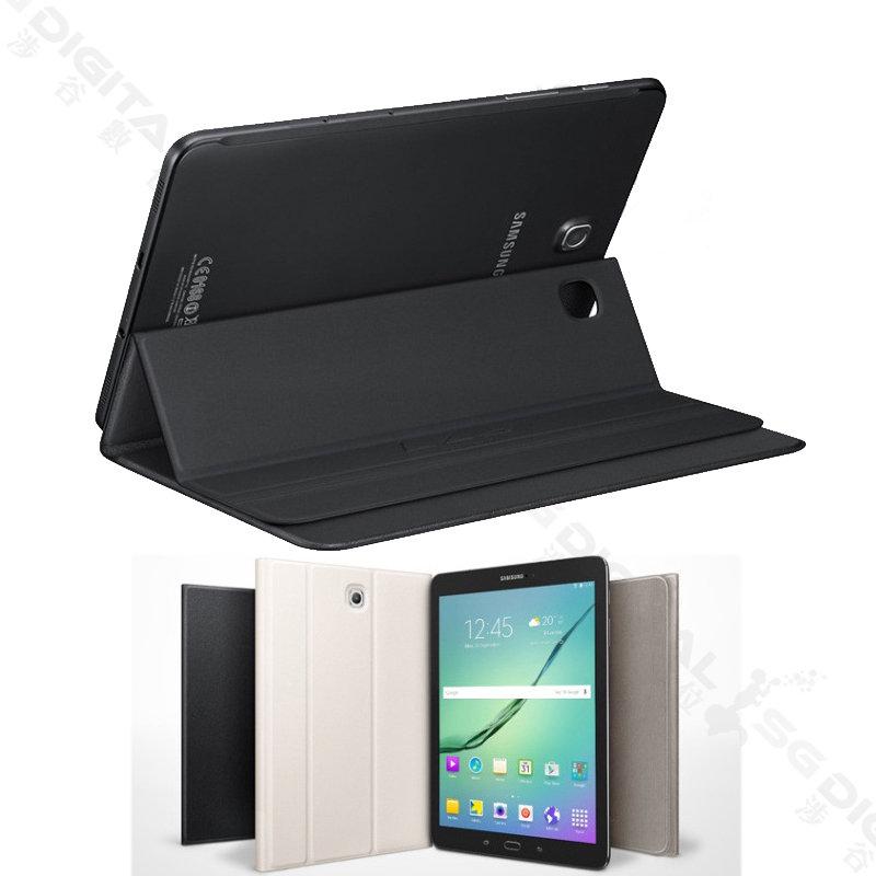 ~斯瑪鋒數位~銷超薄原廠款式-三星 Samsung Galaxy Tab S2 9.7吋 T810 超薄皮套 側掀皮套