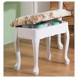 【C&B】英倫風歐式收納化妝椅