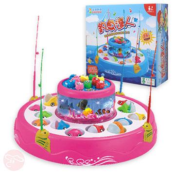 【瑪琍歐玩具】電動釣魚盤