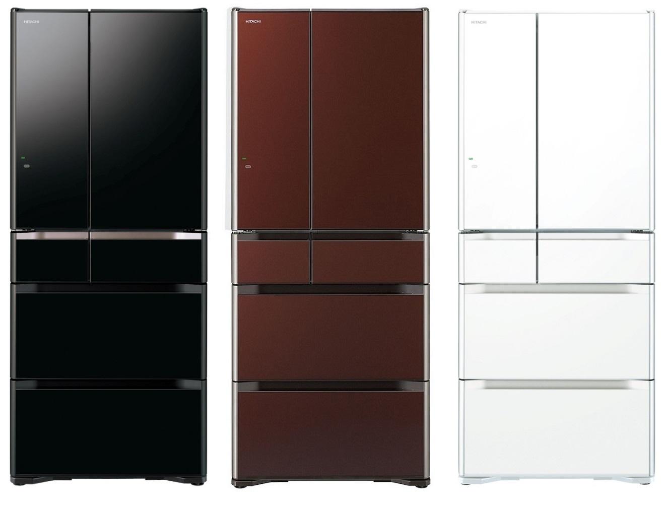 HITACHI 日立 RG620FJ 日本原裝六門琉璃冰箱(620L) ★指定區域配送安裝★