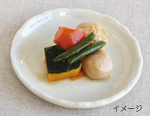 【This-This】日本 Izawa 美濃燒 白化粧碟盤 - 4.5 小圓碟 / 6.5 橢圓碟