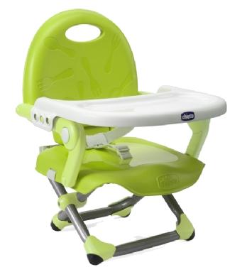 【悅兒園婦幼生活館】Chicco Pocket Snack攜帶式輕巧餐椅座墊(萊姆綠)