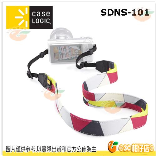 現貨 美國 Case Logic SDNS-101 普普色塊 單眼背帶 頸帶 相機 幾何 EM10 A7II EM5 A7 D7200 80D 760D XA2