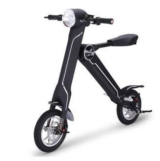 LEHE 3D智能摺疊電動車 『綠色輕環保』智能折疊、電動代步摩托車