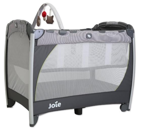 【淘氣寶寶】奇哥 Joie Excursion 遊戲床 JBA60400D 預購1月初到貨【附贈蚊帳、吊床、玩偶】【奇哥正品】
