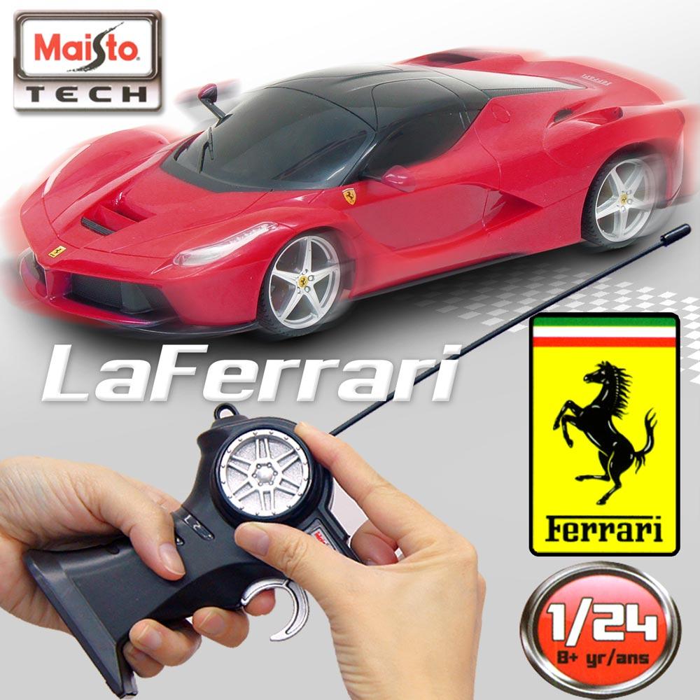 【Maisto】Ferrari LaFerrari《1/24》無線遙控模型車 -紅色