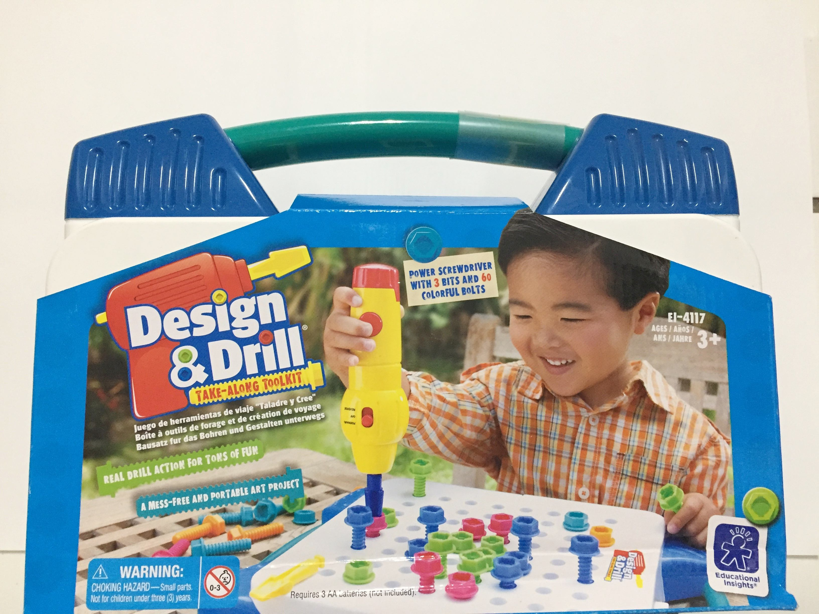 《★ Educational Insights 》Design & Drill 天才工程師 外出組 ★CP值爆高 ★親子部落客狂推 美國代購 溫媽媽