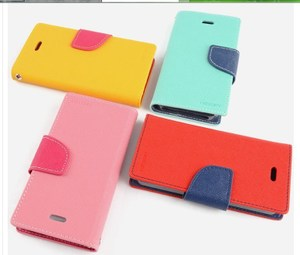 三星Galaxy S6 Edge保護套MYStyle撞色手機皮套 Samsung G9250雙色皮套保護殼