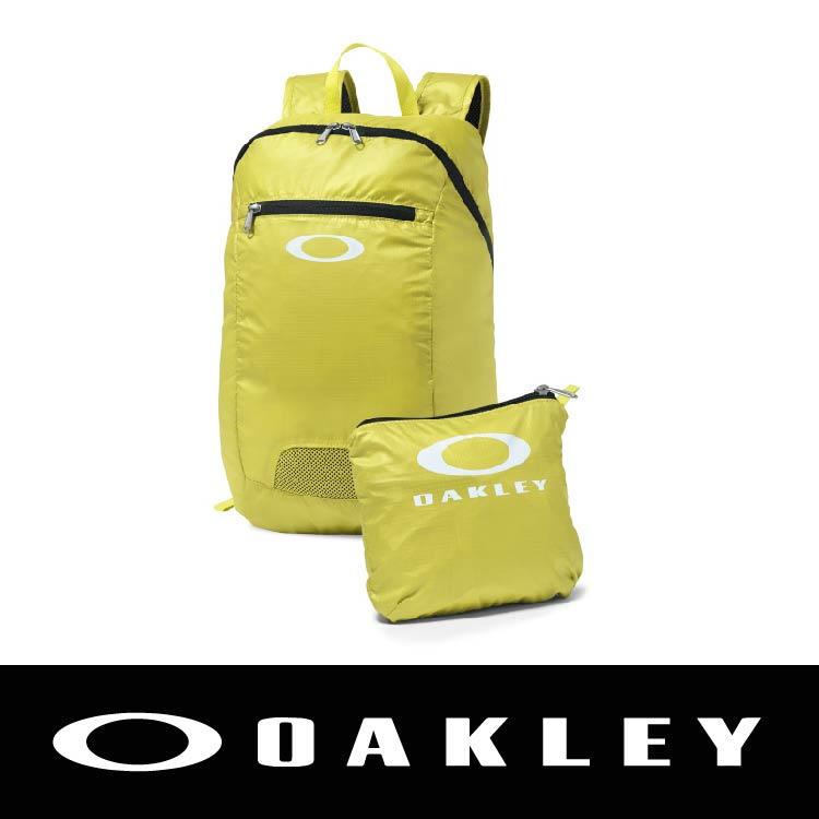 【新春滿額送後背包!只到2/28】OAKLEY SP16 PACKABLE BACKPACK LASER 黃色 OAK-92732-599 萬特戶外運動